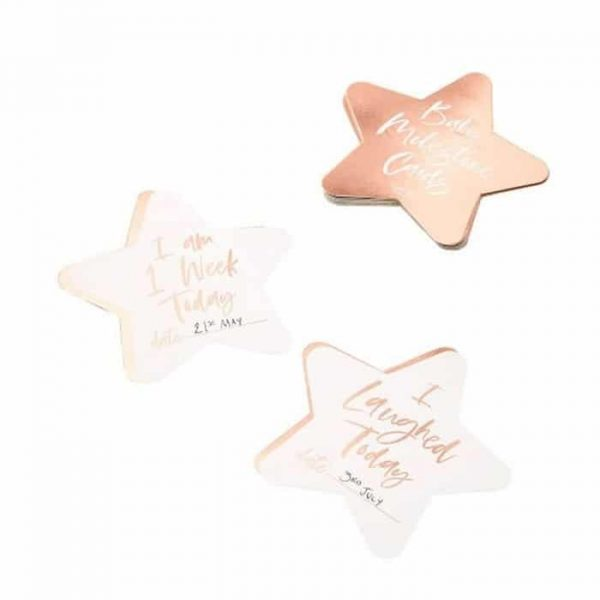 Ginger Ray Rose Gold Foiled Milestone Cards