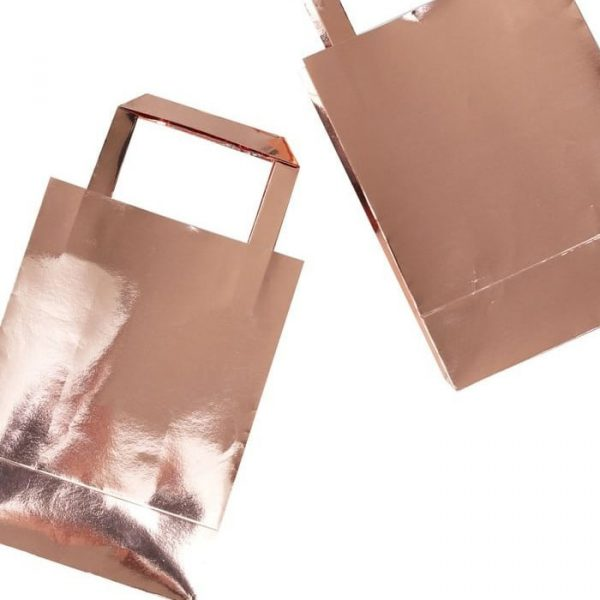 Ginger Ray Rose Gold Party Bags