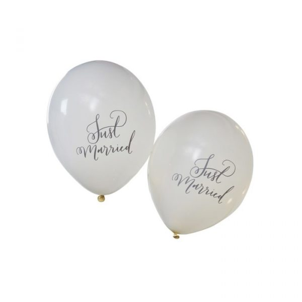 Ginger Ray Just Married Balloons