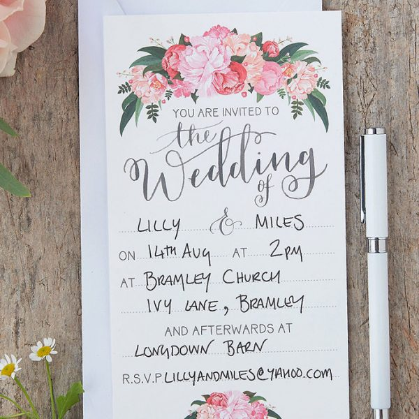 Ginger Ray Wedding Invitations