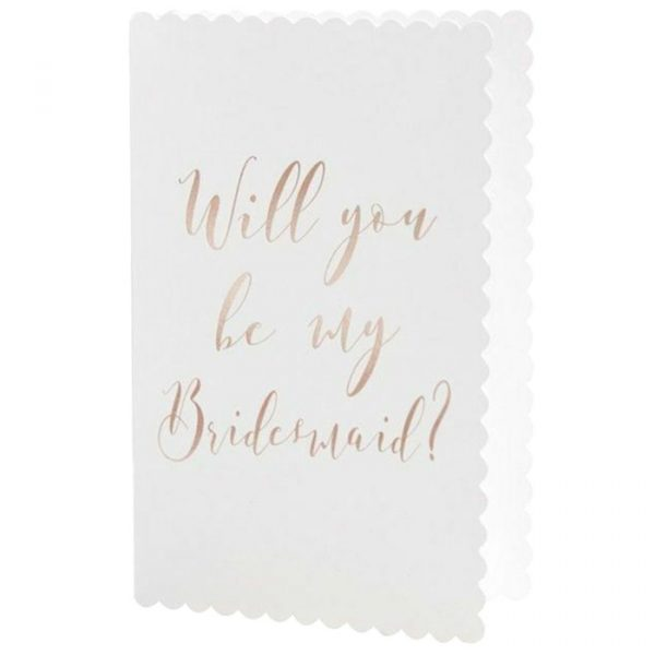 Ginger Ray Will You Be My Bridesmaid Cards
