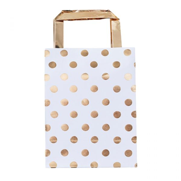 Ginger Ray Gold Dotty Party Bags