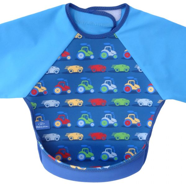 Bibetta Ultrabib With Sleeves Car Pattern