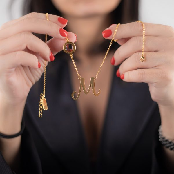 Coline Designs - Pick Your Own Letter Necklace Gold Plated
