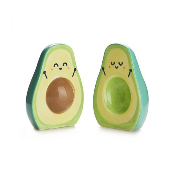 Balvi Salt & Pepper Set Mr. Wonderful Avocado Green