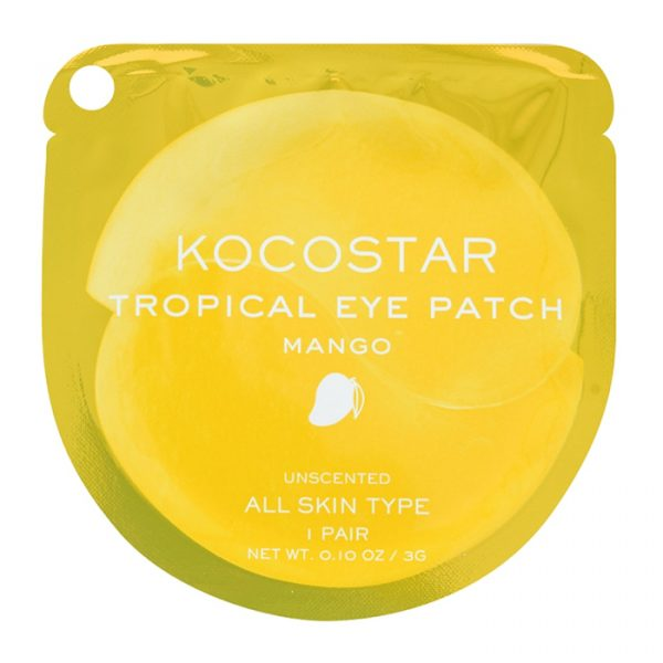 Kocostar Tropical Eye Patch Mango Single