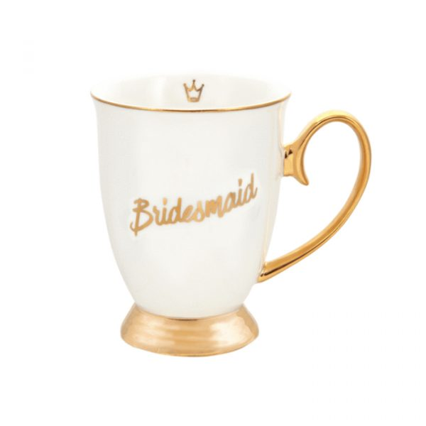 Cristina Re Love Collection Mug Bridesmaid Ivory & Gold