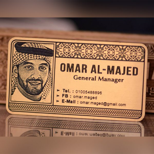 Lazer Gallery Personalized Wooden Engraved Vip Business Cards With Your Face