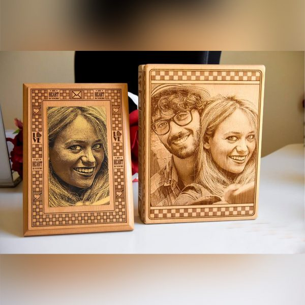 Lazer Gallery Personalized Mona Lisa Metal Pieces Of Chocolate