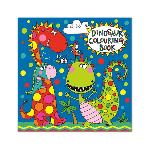 Rachel Ellen Dinosaur Colouring Book Multicolor