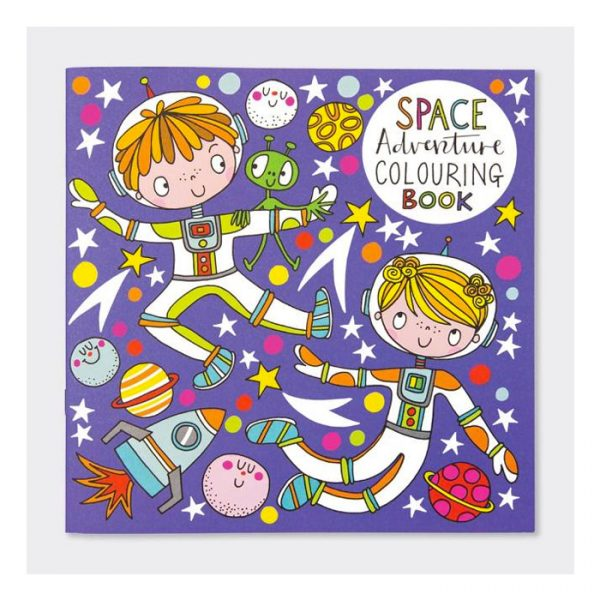 Rachel Ellen Adventures in Space Colouring Book