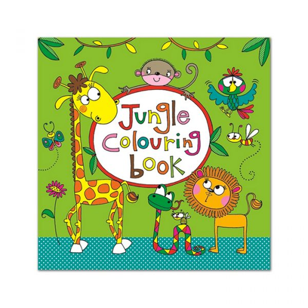 Rachel Ellen Square Colouring Book Jungle Colouring book