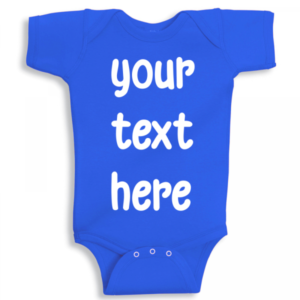 Twinkle Hands Personalized Baby Onesie