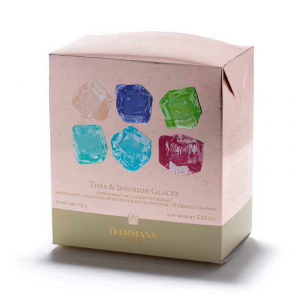 Dammann 12 Tea Bags Flavored Teas And Fruit Infusion Assortiment The Glace