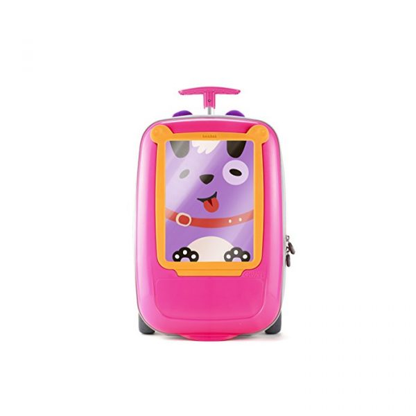 Benbat GoVinci Carry On Luggage PinkOrange