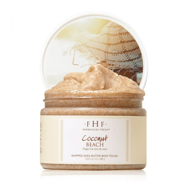 Farmhouse Fresh Coconut Beach Sugar Scrub 340 gr