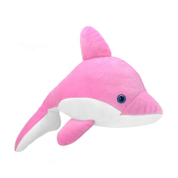 Wild Planet All About Nature Plush Toy Dolphin Pink