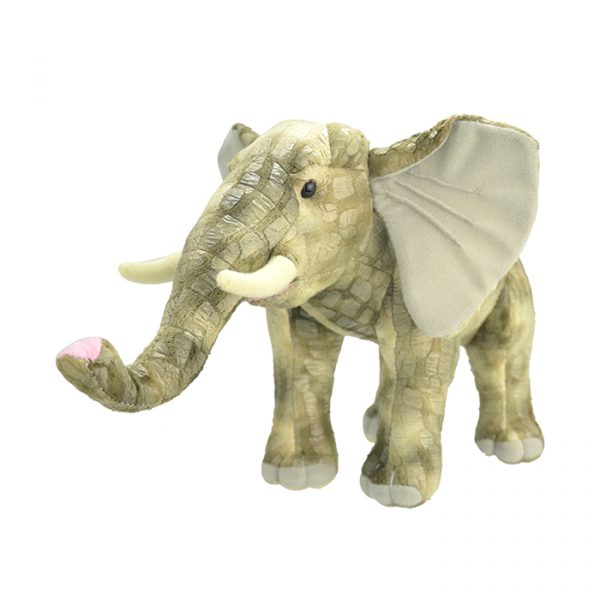 Wild Planet All About Nature Plush Toy Elephant