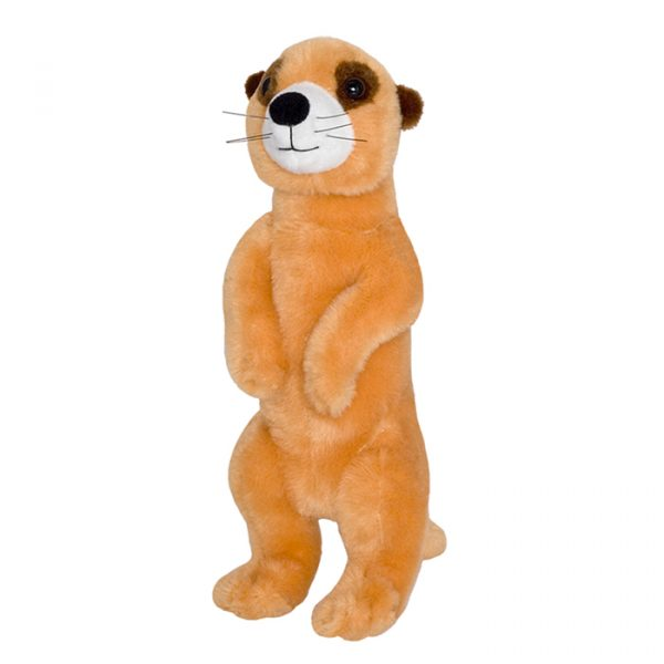 Wild Planet All About Nature Plush Toy Meerkat