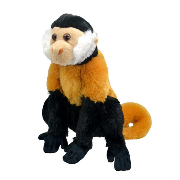 Wild Planet All About Nature Plush Toy Tufted Capuchin Monkey