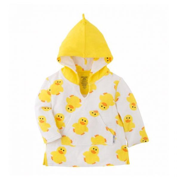 Zoocchini Swim Coverup Puddles the Duck
