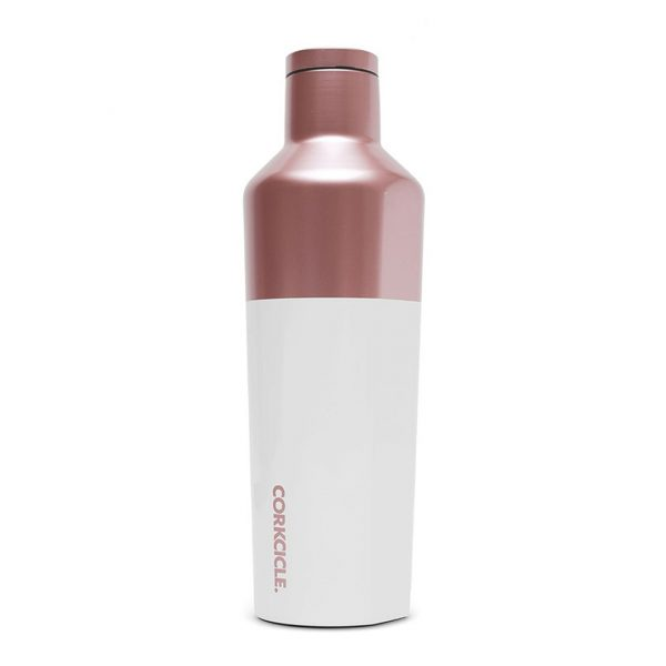 Corkcicle Canteen Vacuum Flask Block Model Rose 470Ml