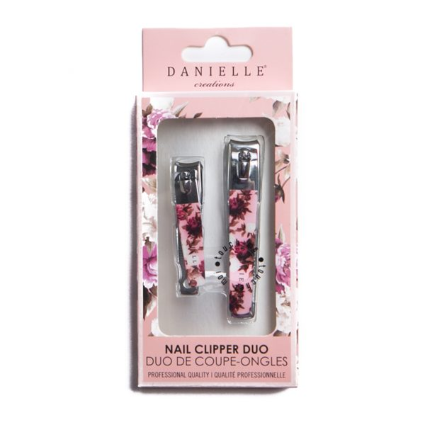 Danielle Creation Vintage Floral Duo Nail Clipper