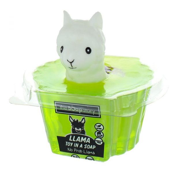 The Soap Story Llama Toy in a Soap 90g