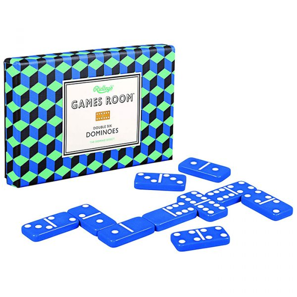Ridley's Dominoes Classic tile set for family of six