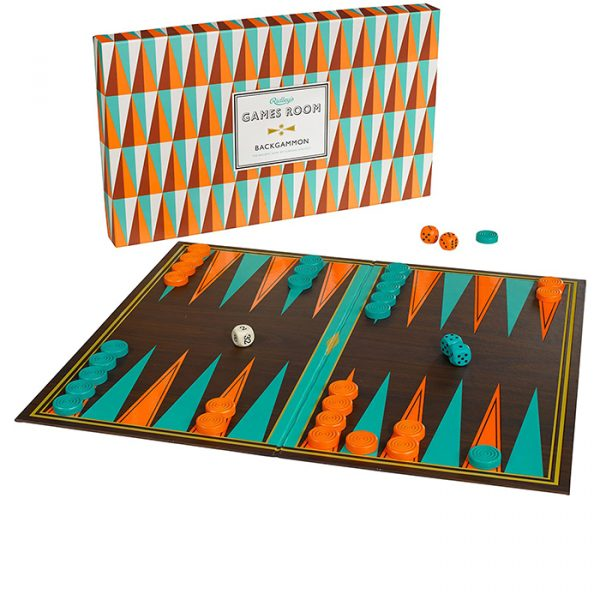 Ridley's Backgammon classic family board game