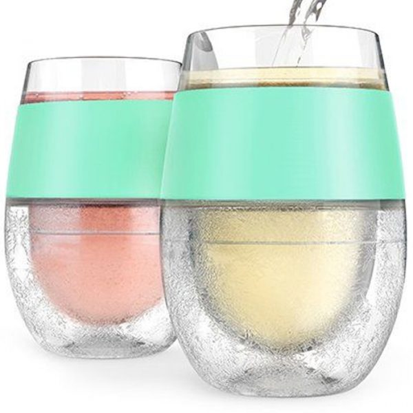 Host Wine Freeze Cooling Cups  ( Set Of 2 )
