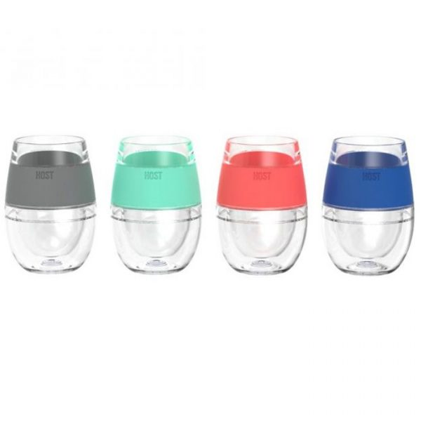Host Wine Freeze Cooling Cups ( Set Of 4 )