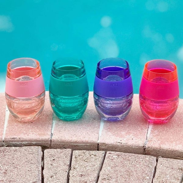 Host Translucent Wine Freeze Cooling Cups