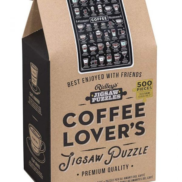 Ridley's 500 pieces puzzle for coffee lovers