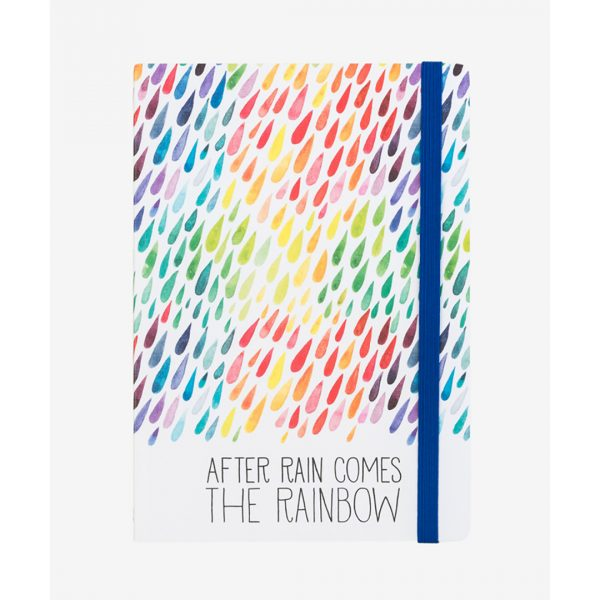 Legami Photo Notebook Medium Rainbow