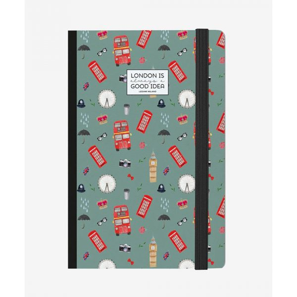 Legami Photo Notebook Medium London