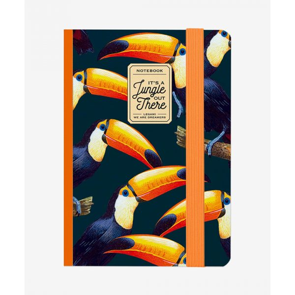 Legami Photo Notebook Medium Toucans