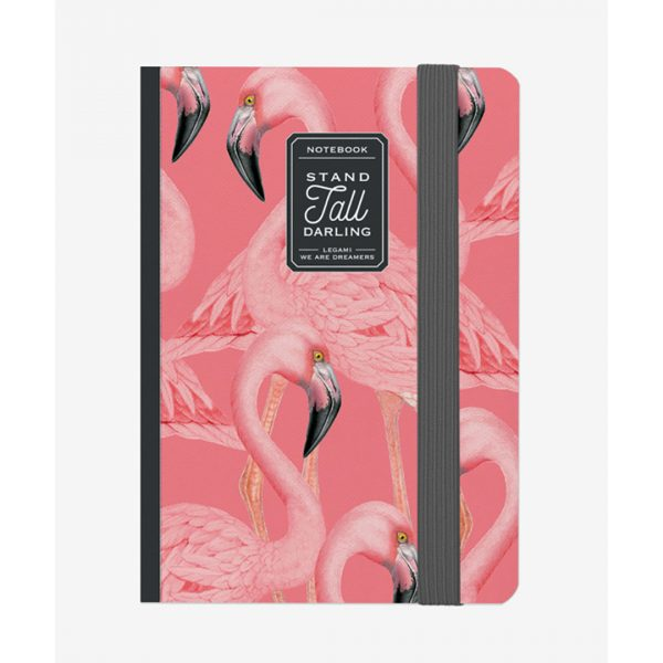 Legami Photo Notebook Medium Flamingo