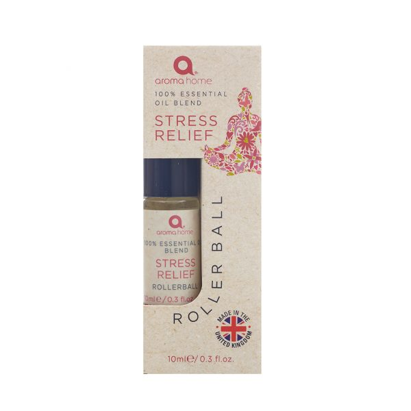 Aroma Home Stress Relief Single Rollerball 10 ml