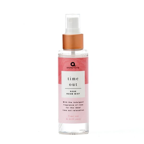 Aroma Home Time Out Rose Pillow Spray