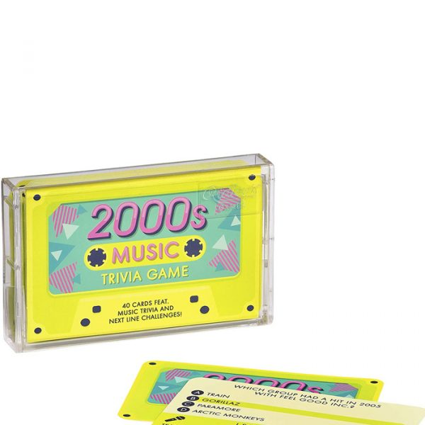 Ridley's Cassette Tape Song and Music Trivia Quiz Divination Game, Multicolor