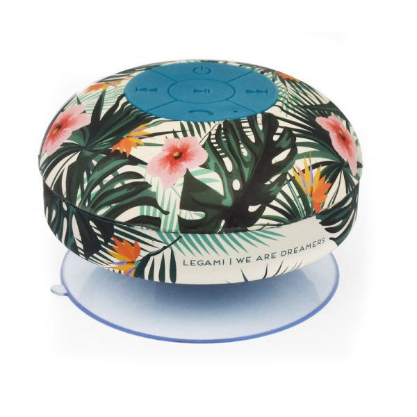 Legami Singing In The Shower Handsfree Speaker Tropical