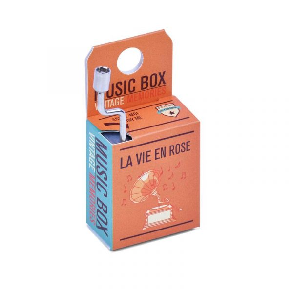 Legami Music Box La Vie En Rose
