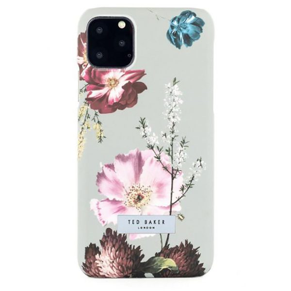 Ted Baker iPhone 11 Pro Max  Hard Shell Phone Case Forest Fruits Grey