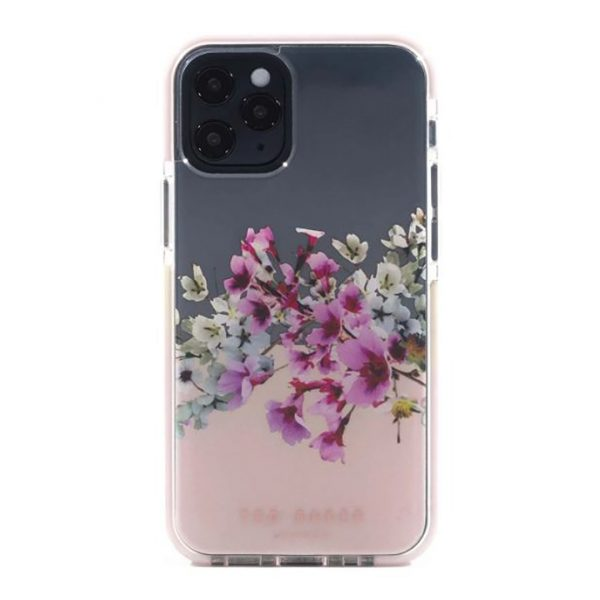 Ted Baker iPhone 12  Mini AntiShock Floral Ph+B2:B20one Case Jasmine Clear