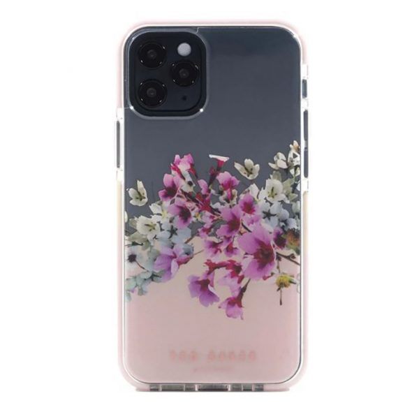 Ted Baker iPhone 12  Pro Max AntiShock Floral Phone Case Jasmine Clear