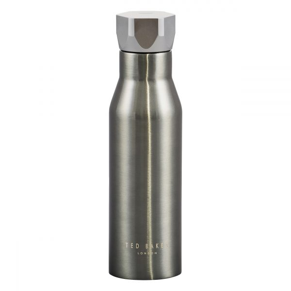 Ted Baker Stainless Steel water bottle Gunmetal