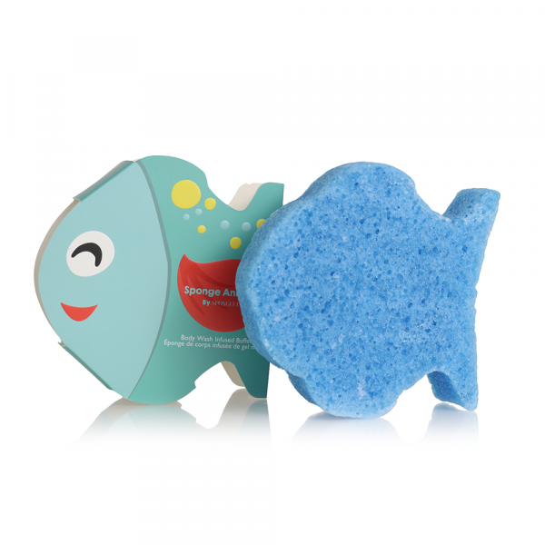 Spongelle Kids Sponge Animals  Fish Multi Use