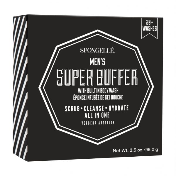 Spongelle Men Super Buffer Verbena Absolute 20 Washes