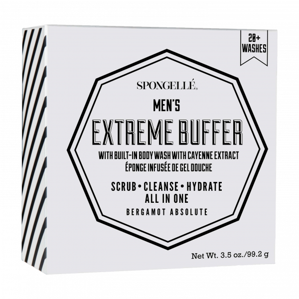 Spongelle Men Extreme Buffer Bergamot Absolute 20 Washes